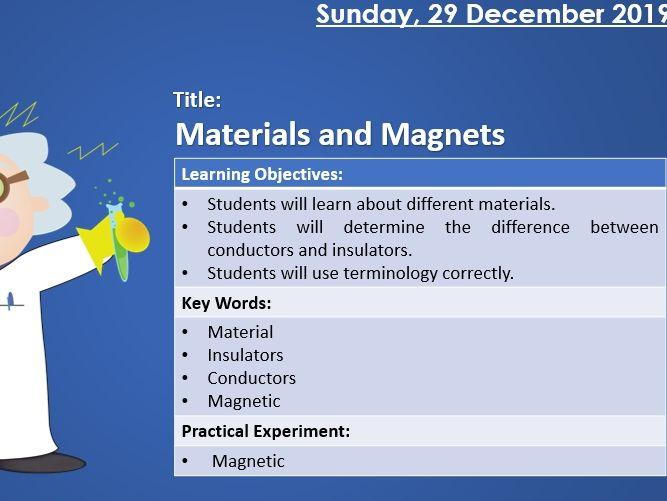 KS3 Science - Magnets