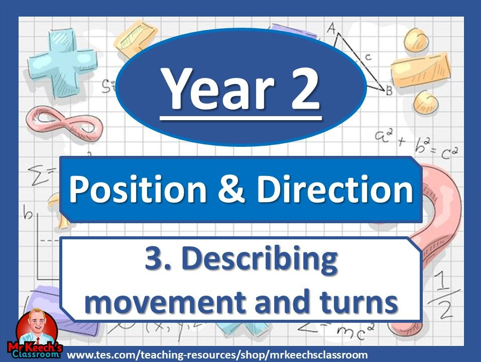 Year 2 - Position and direction - Describing movement and turns - White Rose Maths