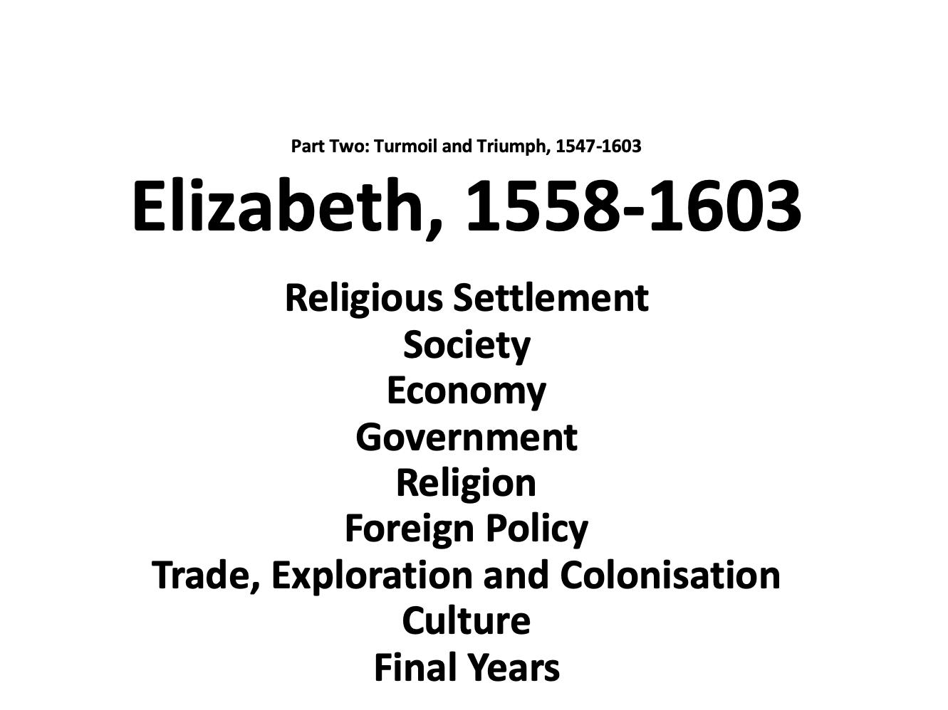 Tudor revision booklets