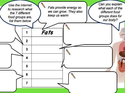 KS3/ KS4 - Balanced Diet - Workbook