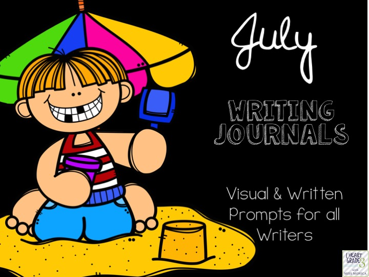 July Journal with Visual & Written Prompts
