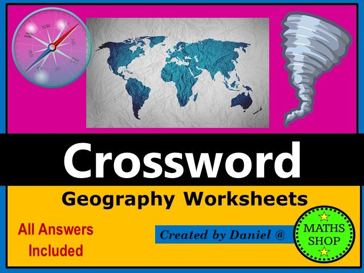World of Water Geography Crossword