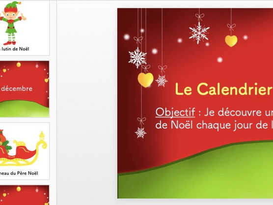 French- Vocabulaire de Noël