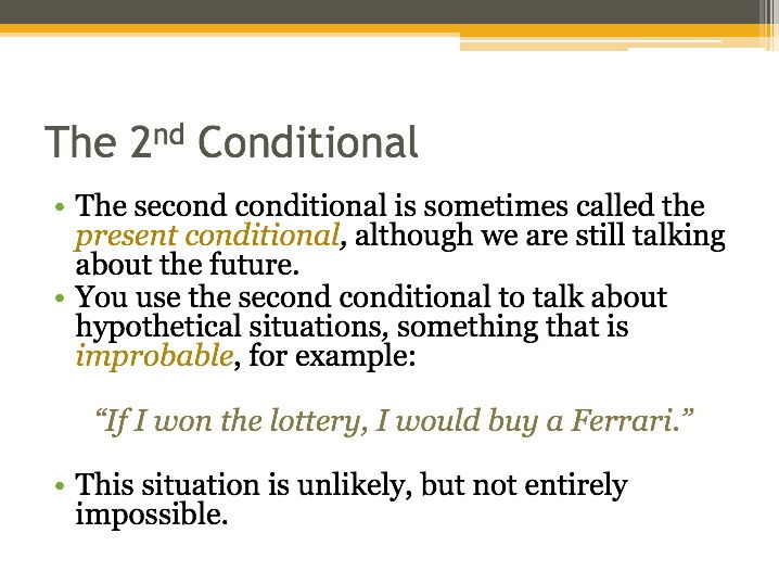 Using Conditional Sentences PPT and Lesson Plans