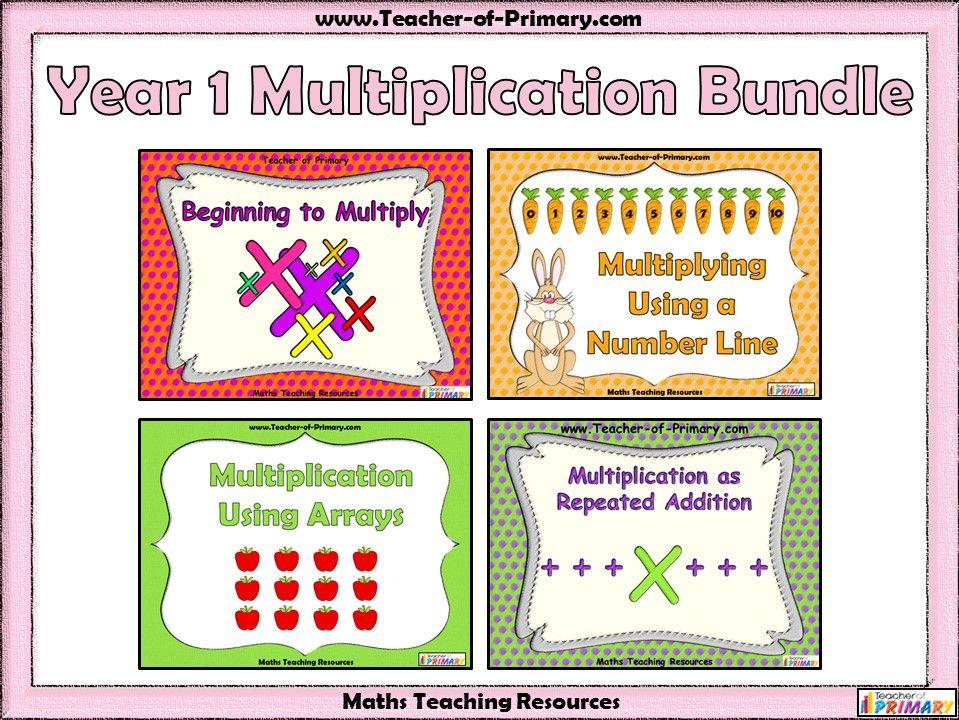 Year 1 Multiplication Bundle