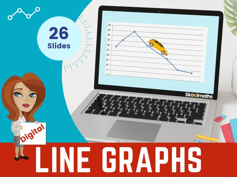 Line Graphs  - Year 6 Maths Digital Learning