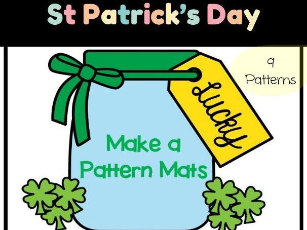 St Patrick's Day: Make A Pattern Mats - AB-AB