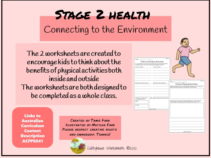 Stage 2 Health Connecting to the Environment