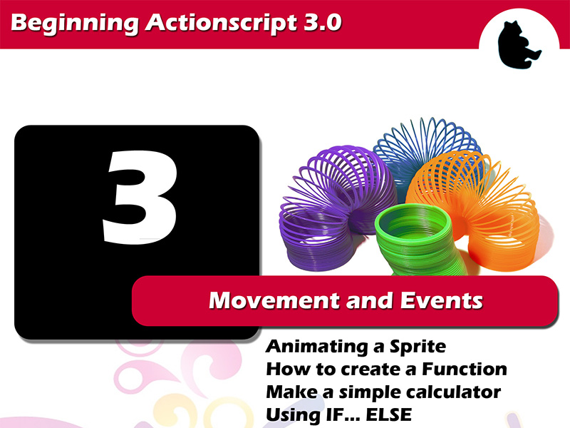 Beginning Flash / Actionscript - Movement and Events
