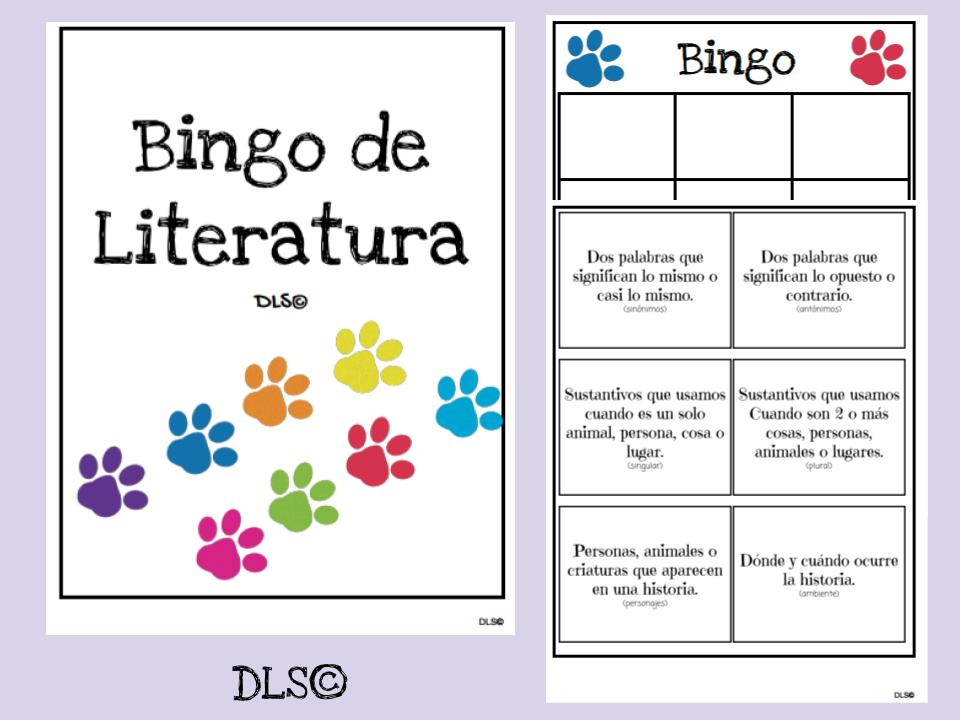 Bingo de literatura