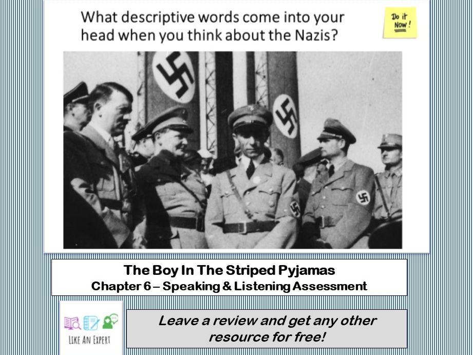 Boy In The Striped Pyjamas - Chapter 6