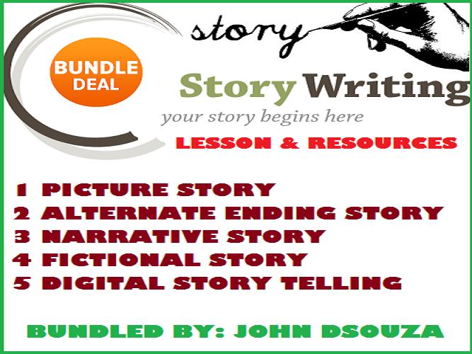 STORY WRITING: BUNDLE