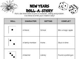 New Years Roll A Story