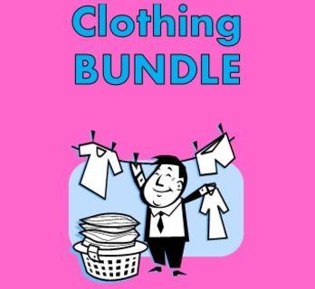Kleidung (Clothing in German) Bundle