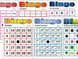 Bingo Super Starter Pack (6 basic bingo games)