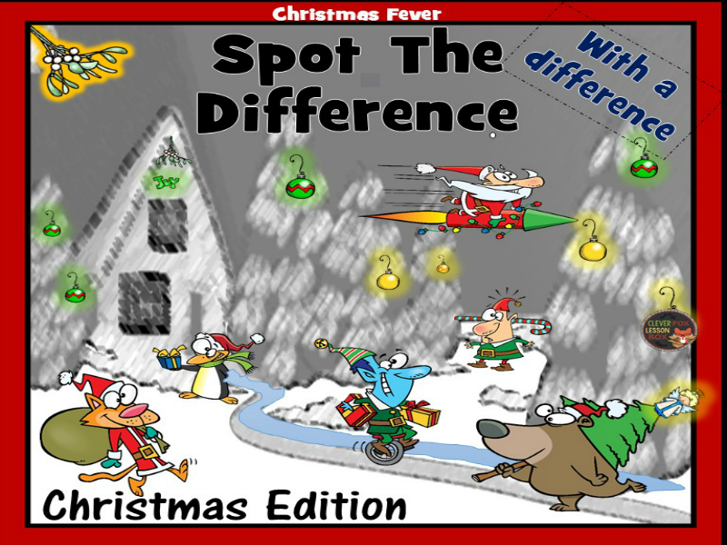 Christmas- Spot (Discuss) The Difference