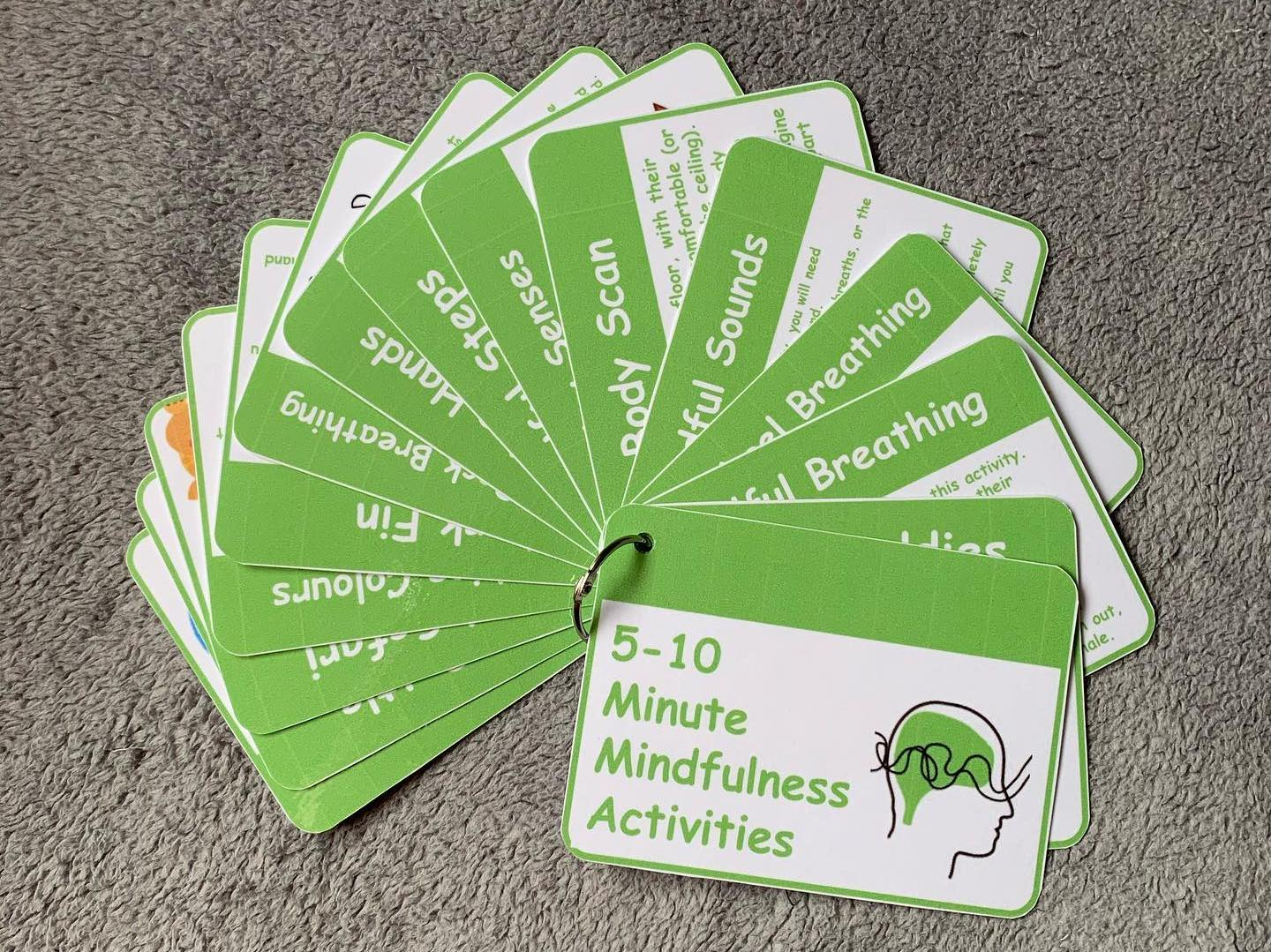 5-10 Minute Mindfulness Activity Cards