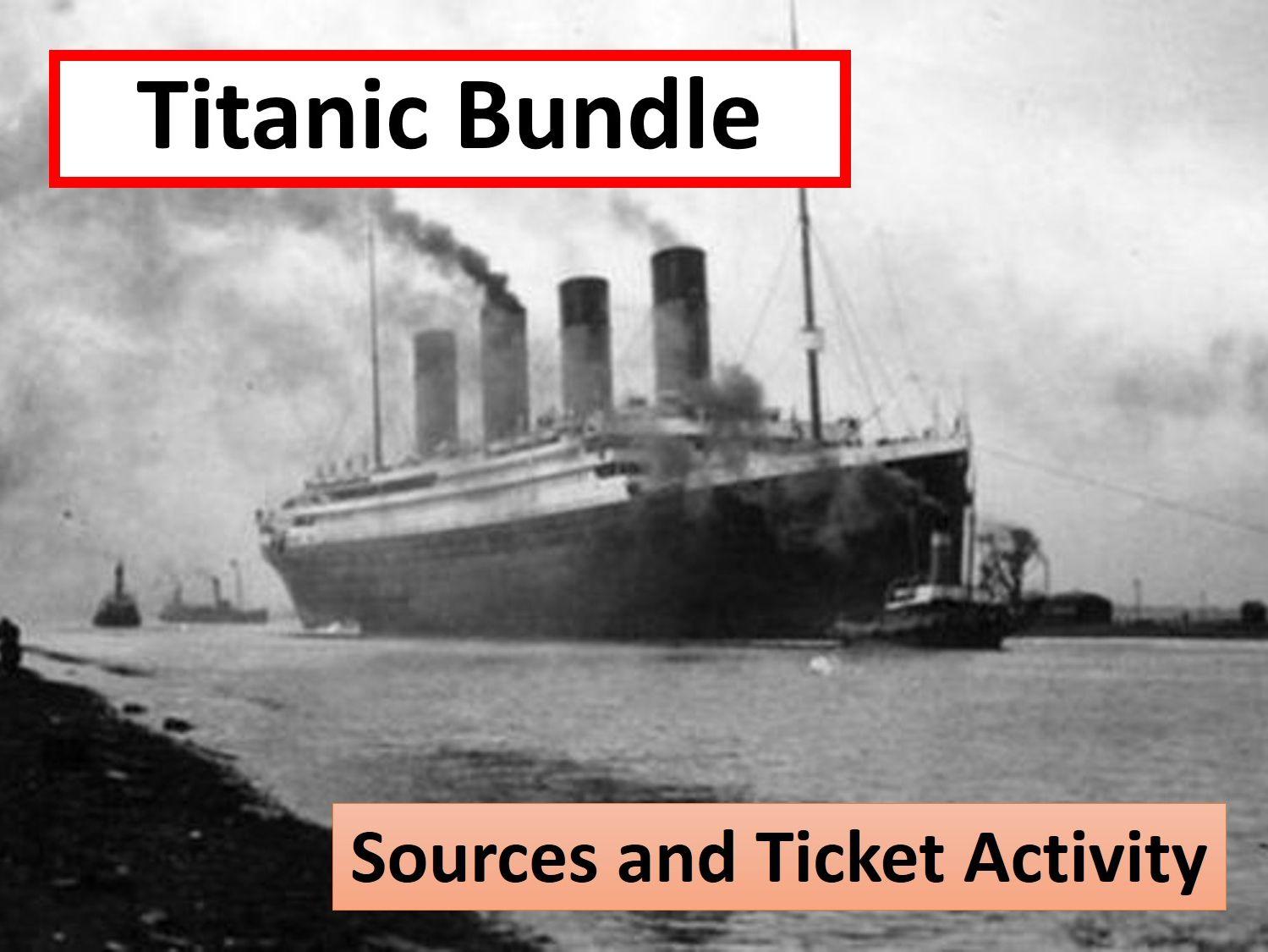 Titanic Resource Bundle
