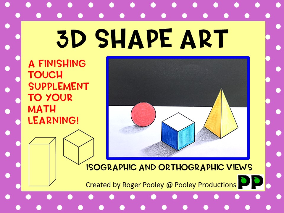 3D Geometric Shapes Art