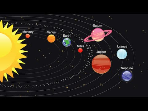 how did the planets and moons form - photo #25