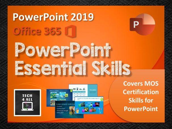 PowerPoint Essential Skills