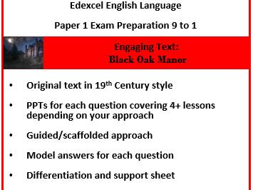 Edexcel English Language Paper 1 9-1.