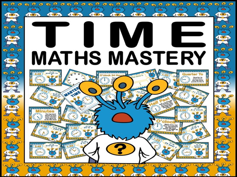 TIME POSTERS MATHS MASTERY TEACHING RESOURCES FOR KS1 KS2 CAPTAIN CONJECTURE