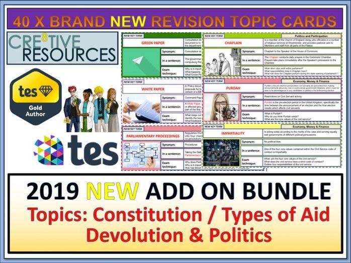 British Politics Constitution Aid x40