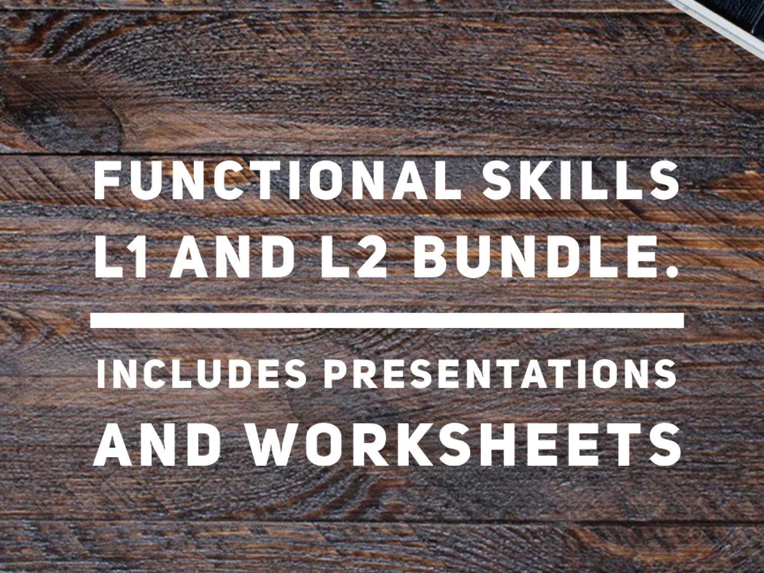 ICT Functional Skills Bundle L1 and L2