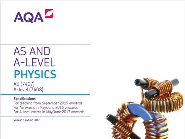 AQA Physics As Level; Quiz Recall Grids