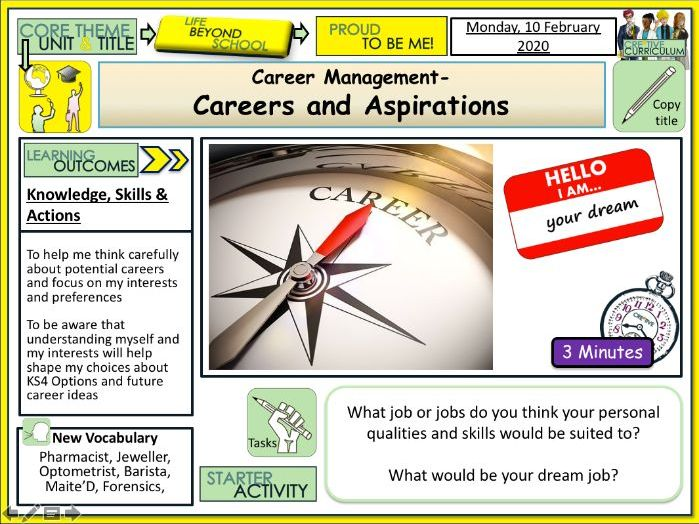 Careers exploration and Jobs