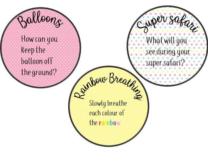 Mindfulness Jar Activities