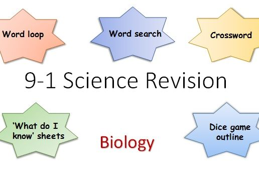 9-1 Edexcel Combined Biology  Revision Pack