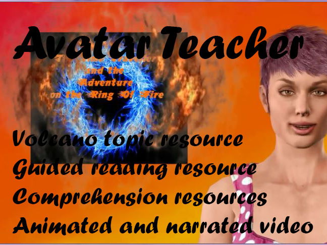 Volcano topic resource comprehension:The Time Traveller and the Adventure on the Ring of Fire ch 6
