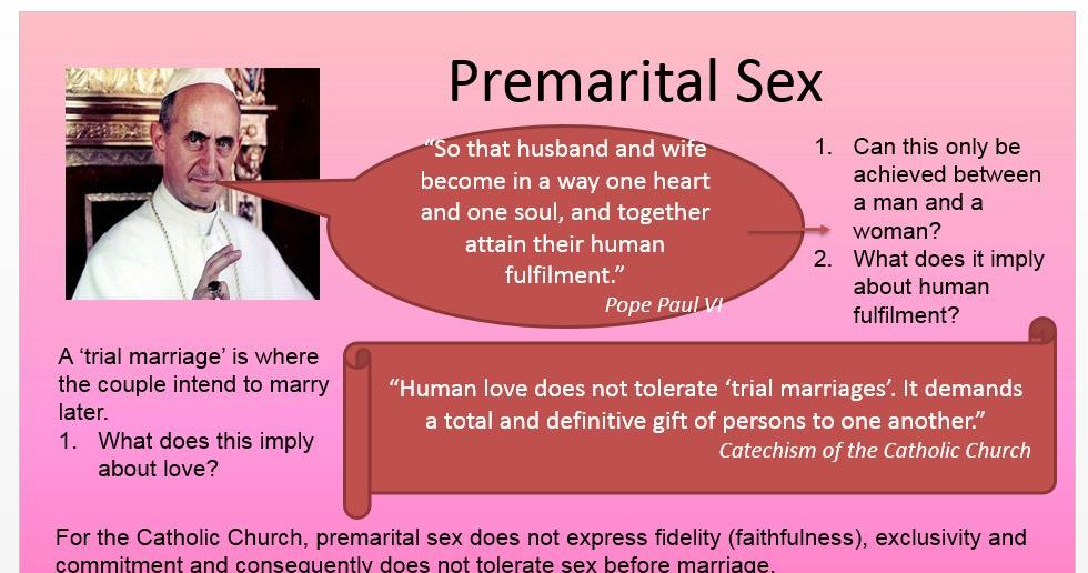 Sexual Ethics Power Point: A2 New Spec