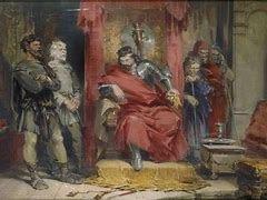 Macbeth Act 3 scene 1 Worksheet, script and exam practice