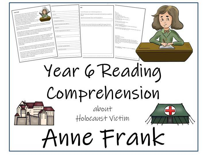 Anne Frank Reading Comprehension