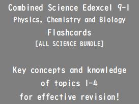 GCSE Combined Science Edexcel Flashcards
