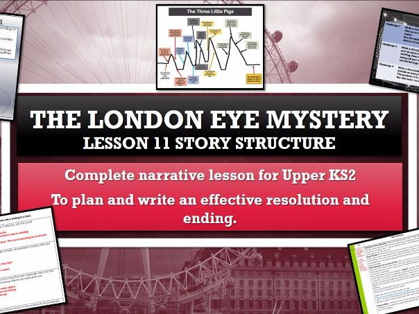 The London Eye Mystery - Lesson 11 - Writing an effective resolution and ending to my story