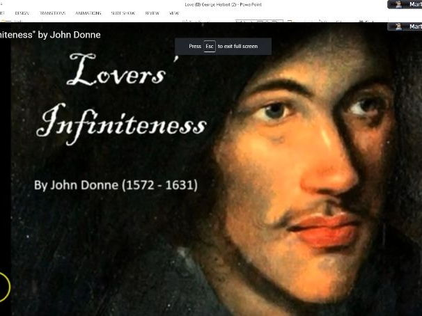'Lovers' Infiniteness' - John Donne (CIE IGCSE Literature 0486, 'Songs of Ourselves')