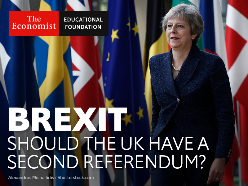 Brexit and democracy debate: should the UK have a  second referendum?