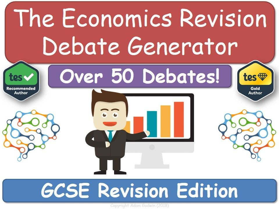 The Economics Revision Debate Generator (GCSE, Revision, KS4, Economics)