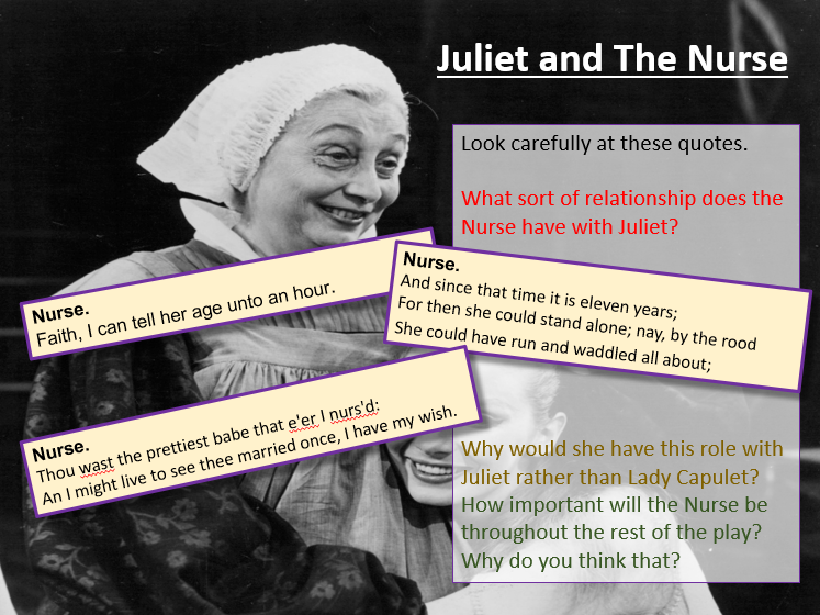Romeo and Juliet - The Nurse