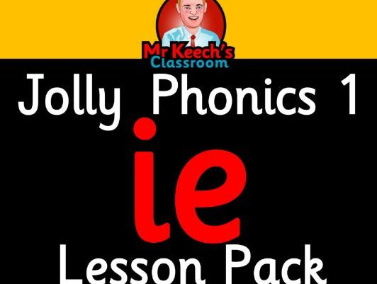 Phonics Worksheets, Lesson Plan, Flashcards | Jolly Phonics ie Lesson Pack