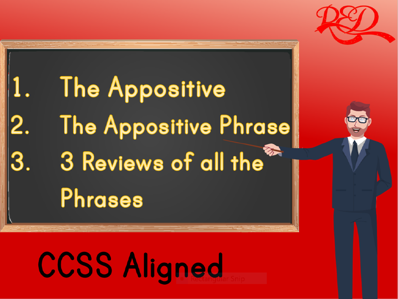 The Appositive and the Appositive Phrase