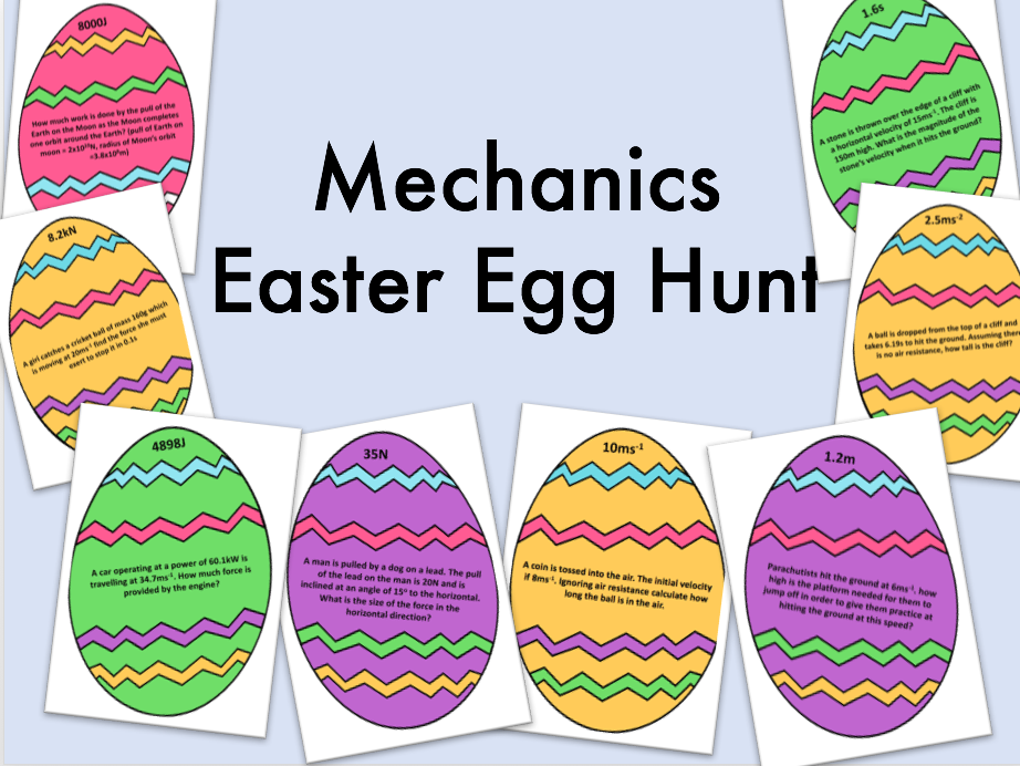 Mechanics Easter Egg Hunt