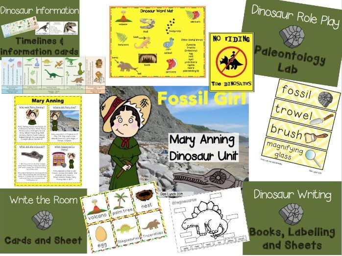 Dinosaur Unit - Mary Anning