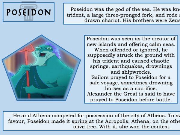 Ancient Greek Religion/Mythology