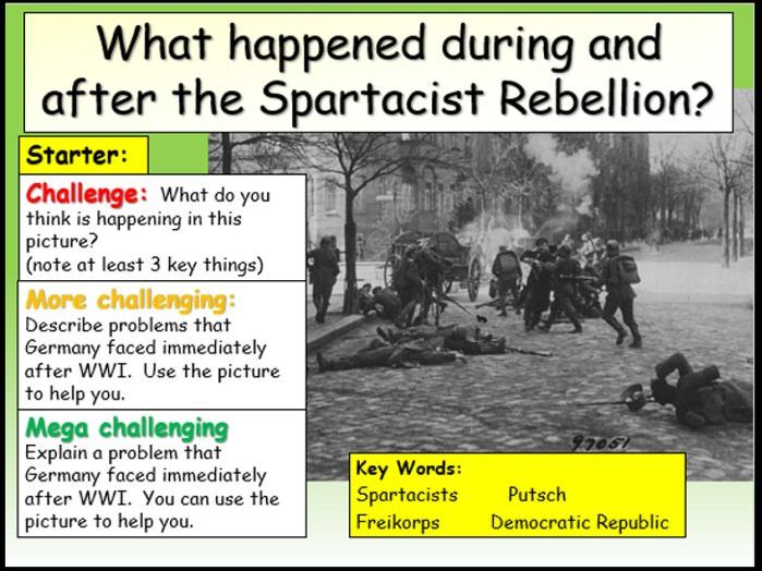 Spartacist Rebellion