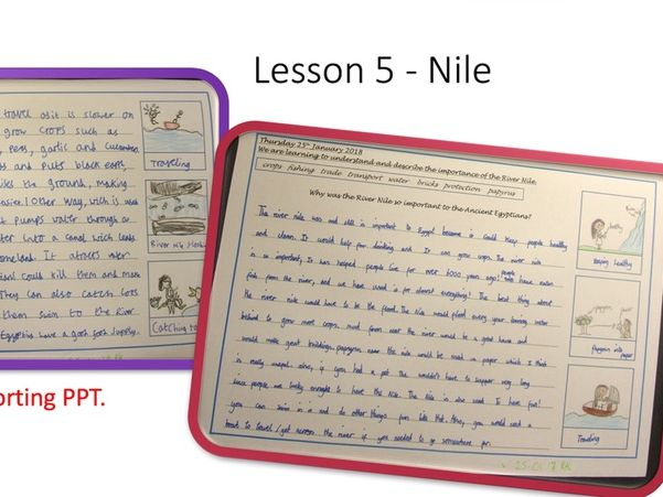 Ancient Egyptians - 12 Lesson Unit, Worksheets and Materials